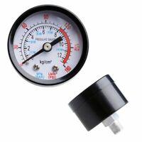 0-180PSI 0-12Bar Air Compressor Pneumatic Hydraulic Fluid Pressure Gauge Dial x1