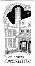 STEVEN WILSENS: Exlibris für Paul Scheltens