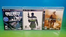Call of Duty: Modern Warfare 2, 3, Ghosts, - Playstation 3 PS3 Complete 3 Games