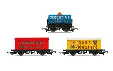 Hornby R6990 OO Hornby Retro Wagons 3-pack Crawfords Biscuits SECCOTINE Tanker