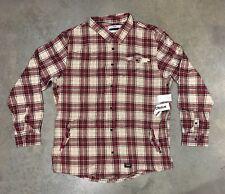 Orisue Truman Rd Plaid Longsleeve Button Up Sz.3X Retail $78! NWT 100% Authentic