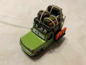 Miles Axlerod Outback Cars Disney Mattel unreleased cancelled prototype