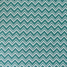 In the Beginning Fabrics RANUNCULUS Chevron Teal- yards