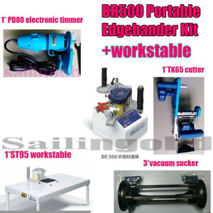 BR500 Le-matic Portable Edge bander machine Workstable Woodworking Kit banding