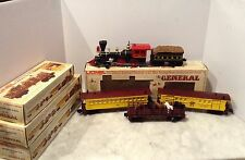 LIONEL  THE GENERAL #6--8701 4-4-0  WITH TENDER, HORSE CAR,PASSENGER,BAGGAGE