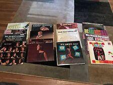 Lot of 14 Various LP's Kenny Rogers, Bill Cosby, Temptations, Welk, Petula Clark