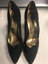 Carriage Court Size 11 M Black Slip on Shoes Black Mesh