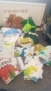 Boys Dinosaur bedroom accessories bedding rug