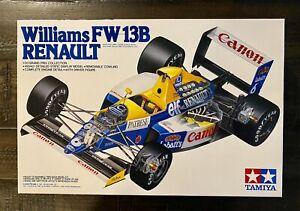 Tamiya 1/20 Williams FW-13B Renault F-1 20025 Sealed Bags New