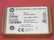NEW Genuine HP S136 10G SFP+ LC 10Gbase-SR Optical Transceiver 10Gb JC859A 10Ge
