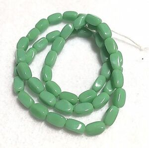 Vintage Rectangle Glass Beads - From Czechoslovakia  - 9 Variations to Choose