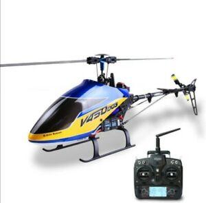 Walkera V450D03 Generation II 6CH Achsen Gyro BR RC Hubschrauber+Devo7 +VM