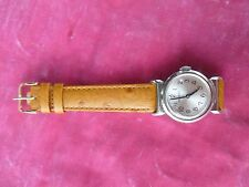 STUNNING EARLY 1940'S MOVADO SPORT WATCH OVERHAULED RUNS GREAT RESTORED NEW BAND