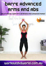 Barre and Pilates EXERCISE DVD - Barlates Body Blitz BARRE ADVANCED ARMS AND ABS
