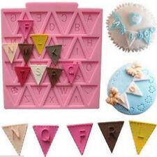 3D Silicone Alphabet Letter Trays Chocolate Mold Cake Fondant Decorating Tools g