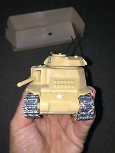 05/1989 Solido General Grant Tank # 6071, Die-cast Metal Tan,Near Mint Condition