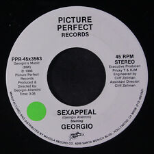 GEORGIO: Sex Appeal / Same 45 (sm tol) Soul