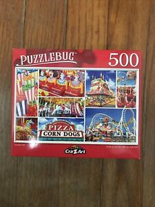 "County Fair Puzzle 18.25"" X 11"" Puzzlebug For Experts 500 Small Pieces"