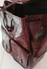 Echt Leder Rucksack Lederrucksack Ledertasche Handtasche Backpack Leder Beutel