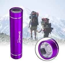 XM-L XPE LED 1AA Flashlight Torch 1200Lumens Aluminum For Outdoor Purple GA