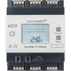 Homematic IP Wired Smart Home 16-fach-Eingangsmodul HmIPW-P-DRI16