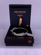 Alex and Ani Feather Wrap Bangle