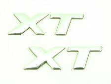 2 X Genuino Nuevo Peugeot XT Insignia Emblema Lateral Para 206 1999-2010 LED de sed 1.4 1.6