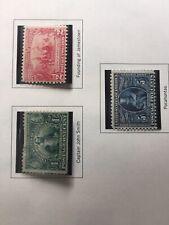 Mint Stamps 1907 Jamestown scott 328 329 330 Lowest Price.