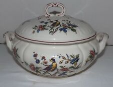 """Villeroy & Boch Red """"Phonix"""" PHOENIX Handled TUREEN w/ Cover (Germany)"""
