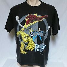 VTG 1994 Fantastic Four T Shirt Marvel Comics 90s Tee Mr Thing Spiderman Thor XL