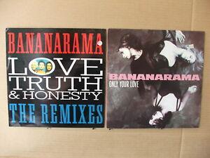 "2/12""/45   Bananarama  'Love Truth & Honesty'  &  'Only Our Love'"