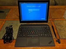 "Lenovo ThinkPad X1 Tablet 3rd Gen 13"" IPS Touch i7-8550U 8GB 256 SSD Warranty"