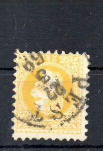 Old classic stamp of Hungary 1867  # A1  used typography