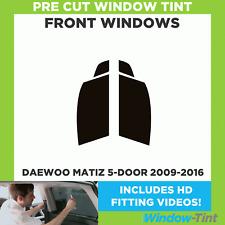 Pre Cut Window Tint - Daewoo Matiz 5-door 2009-2016 - Front Windows