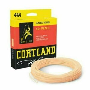 Cortland 444 Classic Peach Fly Fishing Floating Line Trout