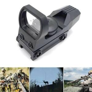 New 20mm Rail Riflescope Hunting Optics Holographic Red Dot Sight Reflex 4 Retic