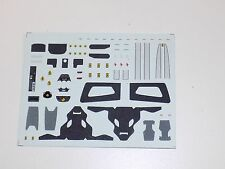 1/43 decals for Ferrari F430 Scuderia  Complete with Silver Stripe  #172