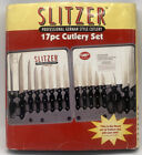 Slitzer German Style 17pc Cutlery Set Full Tang Design with Leymar™ Handles NEW
