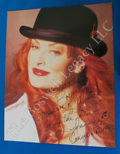 """ORIGINAL Wynonna Judd 8x10 Signed--Autographed in Person to """"The Boswell Museum"""""""