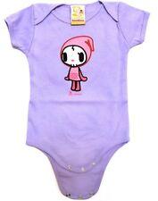 Tokidoki Baby Bodysuit Purple Anime Skull Punk Cotton New NWT 0-3 Months