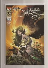 """TALES OF THE DARKNESS #1/2 NM """"HORNED WOMAN"""" (PLATINUM FOIL) *LTD 750* 1998"""