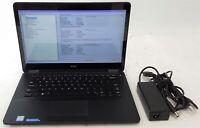 "Dell Latitude E7470 14"" Touchscreen Laptop i5-6300U 256GB SSD 8GB RAM No OS **"
