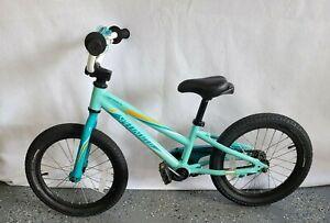 Specialized Hotrock 16 Coster Brake Kids Bike Light blue & white