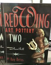 Red Wing  & Rum Rill Two Art Pottery Book