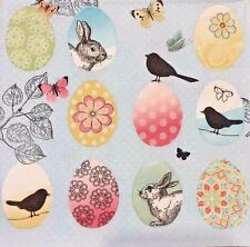 2 single paper Napkins Serwetki Decoupage Collection Birds Eggs Vintage Easter