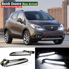 New LED Daytime Running Light For Buick Encore Opel Mokka DRL 2013 2014 13 14