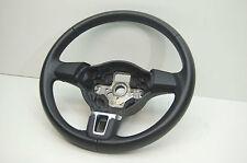 5K0419091J VW Caddy Golf VI Tiguan Touran Lederlenkrad 3 Speichen artgrey (168)