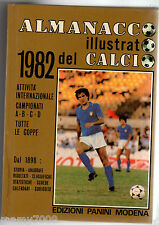 ALMANACCO ILLUSTRATO DEL CALCIO 1982=EDIZIONI PANINI MODENA=GAETANO SCIREA COVER