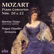 CD MOZART PIANO CONCERTO 20 K466 & CONCERTO 22 K482 MARTINO TIRIMO