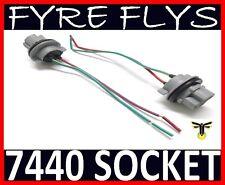 7440 Bulb Socket Brake Turn Signal Light Harness Wire LED Pig Tail Plug 992 T20